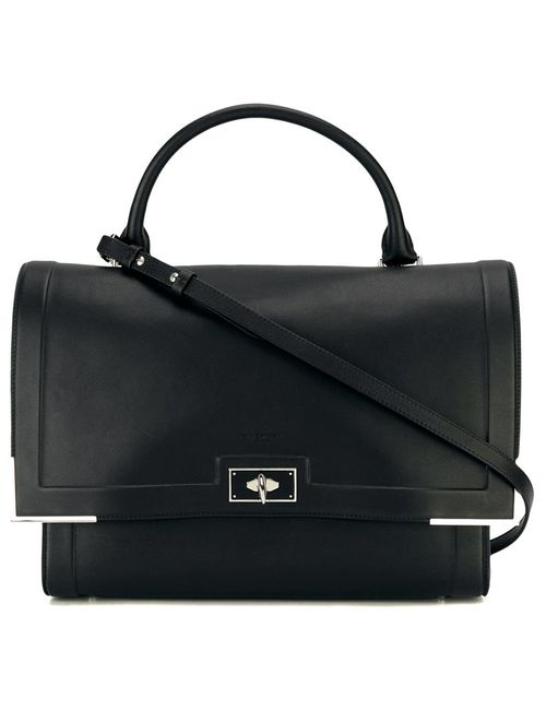 Givenchy | Чёрный Medium Shark Shoulder Bag Calf Leather