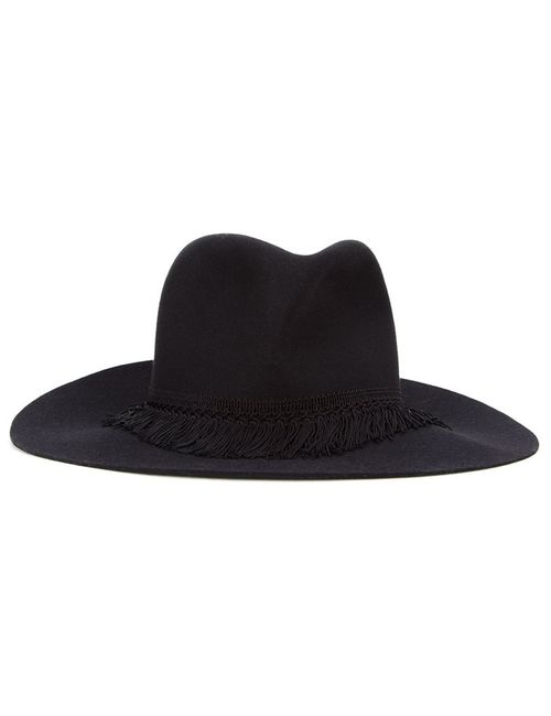 KIJIMA TAKAYUKI | Черный Fedora Hat Wool Felt