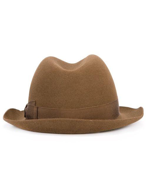 Borsalino | Коричневый Trilby Hat 57 Wool