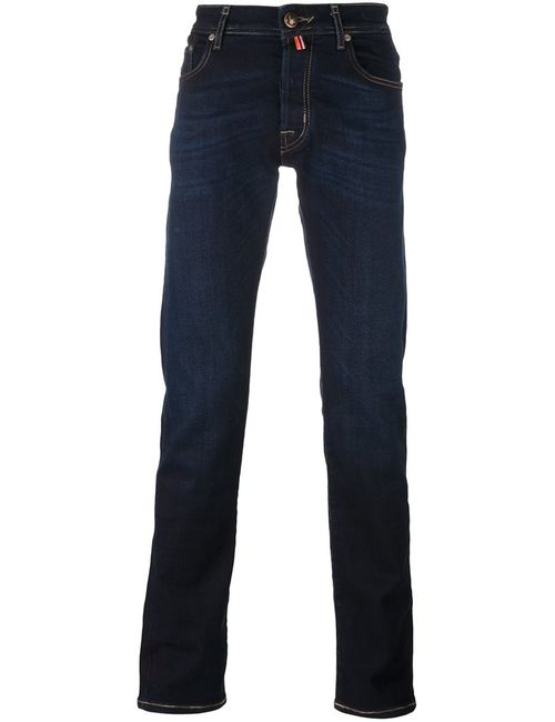Jacob Cohёn | Мужское Синий Jacob Cohen Dark Wash Jeans 31 Cotton/Polyester/Spandex/Elastane