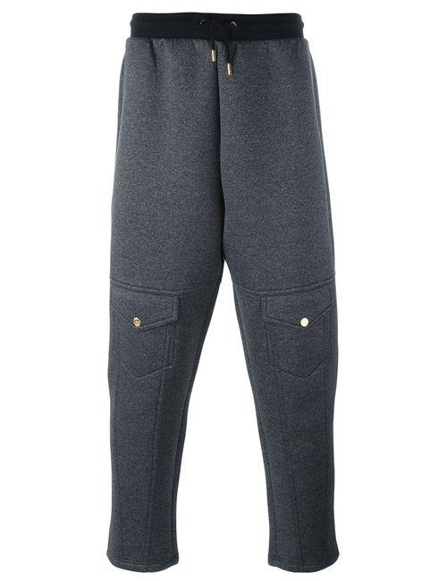Astrid Andersen | Серый Knee Pockets Track Pants Large Nylon/Polyester/Spandex/Elastane