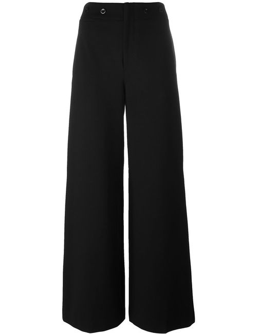 Polo Ralph Lauren | Женское Чёрный Straight Leg Trousers 8 Nylon/Spandex/Elastane/Viscose