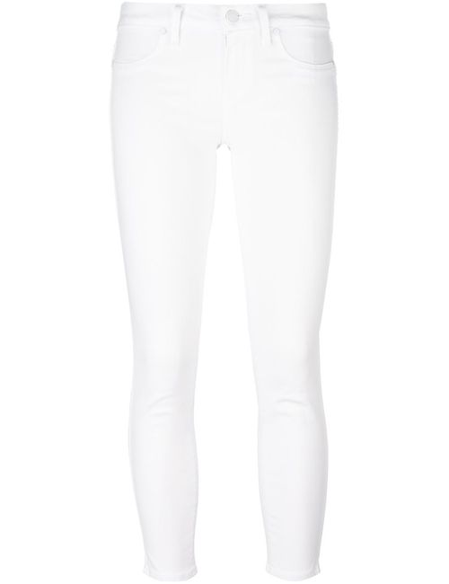 Paige | Женское Белый Verdugo Trousers 24 Cotton/Polyester/Spandex/Elastane