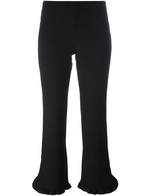 L' Autre Chose | Женское Чёрный Lautre Chose Cropped Trousers 44 Virgin Wool