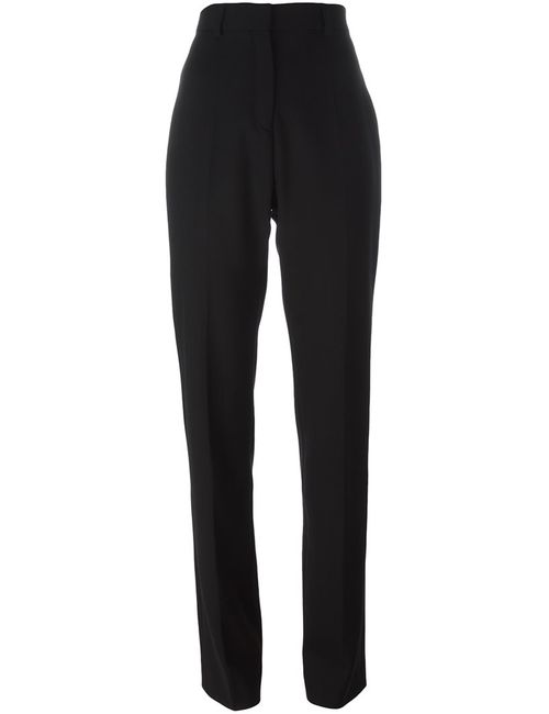 Iro | Женское Чёрный High-Waisted Trousers 40 Spandex/Elastane/Virgin Wool