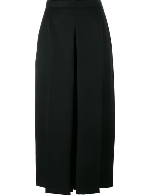 Alexander McQueen | Женское Чёрный Wide Leg Cropped Jeans 38 Virgin