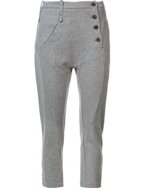 Lost & Found Ria Dunn | Женское Серый Side Button Tapered Trousers