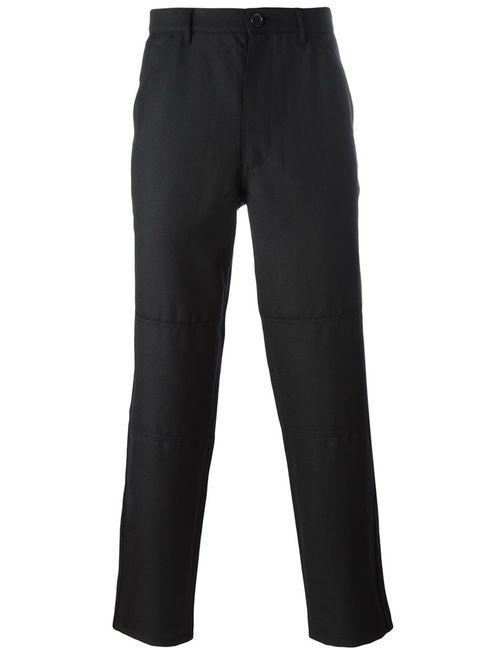 Comme Des Garcons | Чёрный Comme Des Garçons Shirt Straight-Legged Trousers Large
