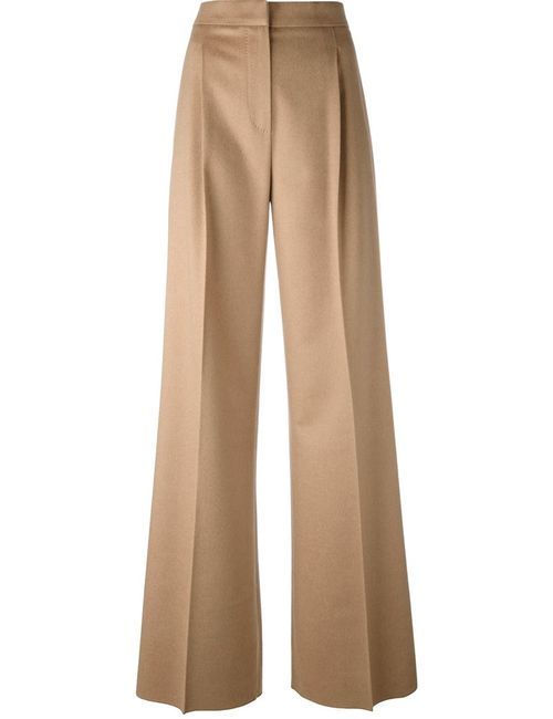 Max Mara | Женское Nude/Neutrals Emma Trousers 40 Camel Hair