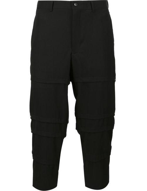 COMME DES GARCONS HOMME PLUS | Мужское Чёрный Comme Des Garçons Homme Plus Cropped Trousers