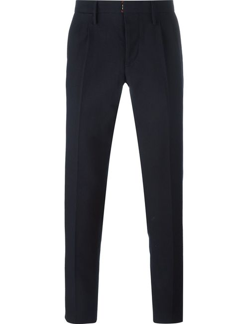 Incotex | Синий Tailored Trousers 48 Cotton/Wool