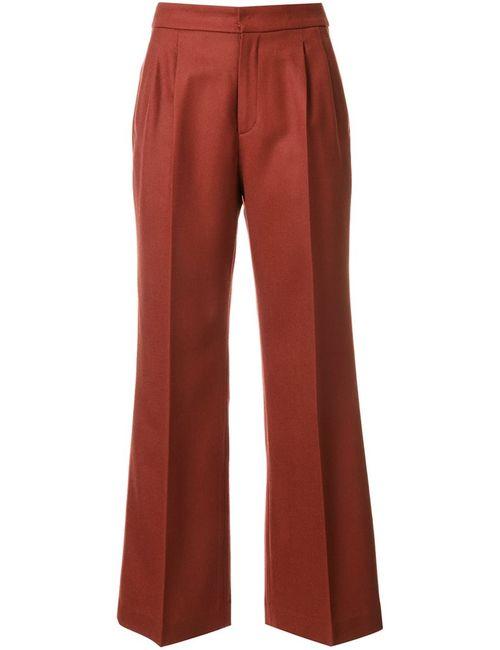 LOVELESS | Женское Желтый Flared Trousers 36 Wool