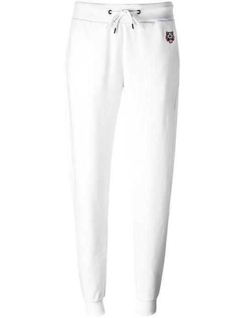 Kenzo | Женское Белый Mini Tiger Track Pants Medium Cotton