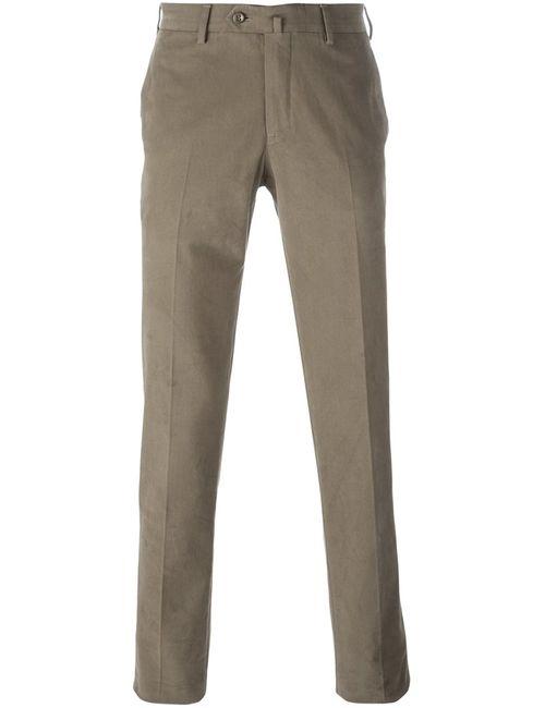 Loro Piana | Мужское Коричневый Classic Chino Trousers 48 Cotton/Spandex/Elastane
