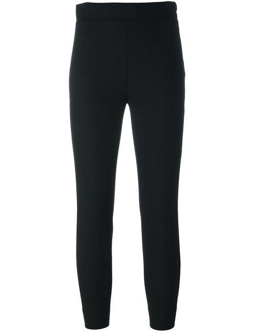 Iro | Женское Чёрный Slim Fit Cropped Trousers 38 Spandex/Elastane/Virgin Wool