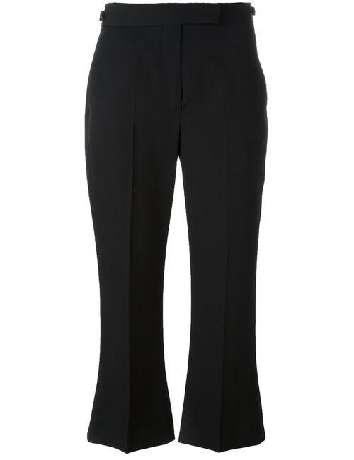 Alexander McQueen | Черный Cropped Trousers 40 Virgin Wool