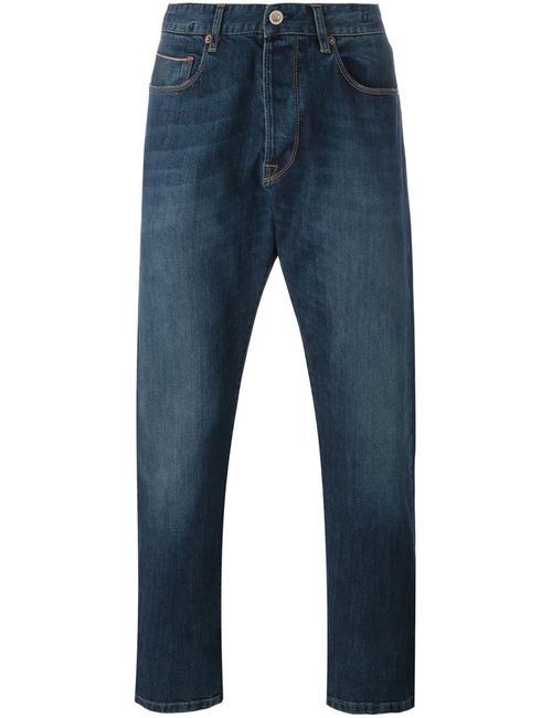 C.P. Company | Синий Cp Company Regular Fit Jeans 33 Cotton/Polyester/Spandex/Elastane