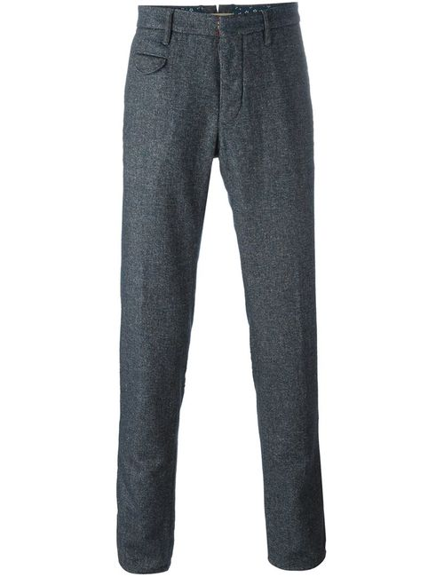 Incotex | Синий Straight Leg Trousers 33 Cotton/Nylon/Viscose/Wool