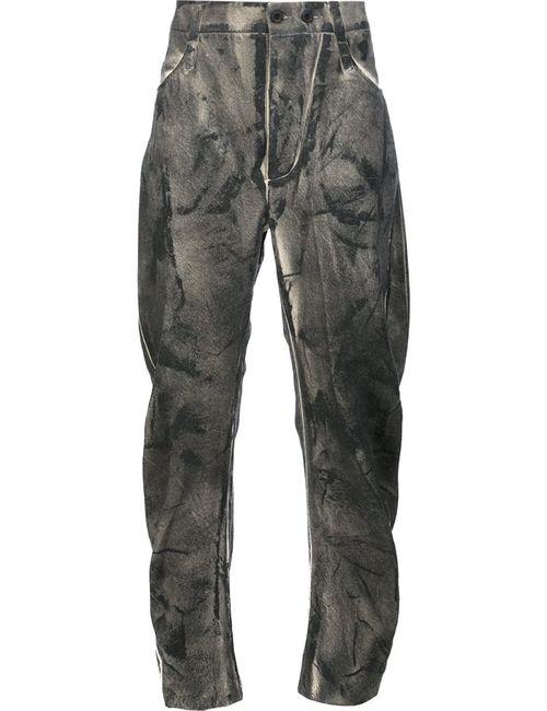 Lost & Found Ria Dunn | Серый Slash Cut Pants Mens Size Large