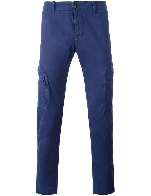 Stone Island | Синий Cargo Pocket Trousers 34 Cotton/Spandex/Elastane