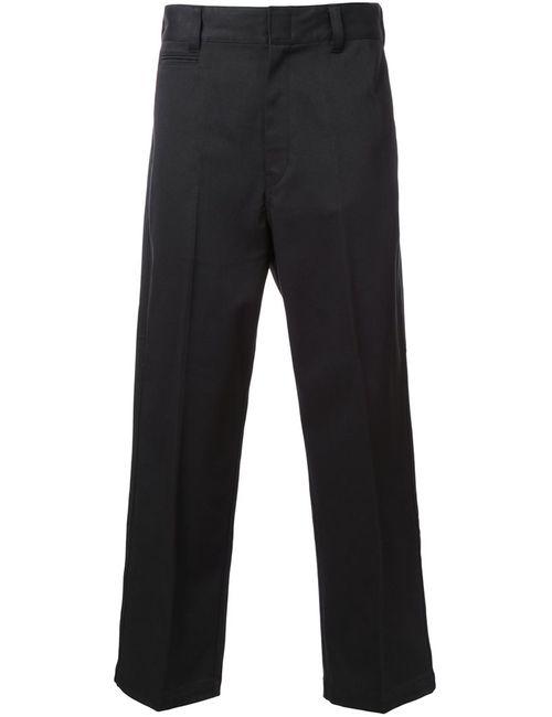 Mr. Gentleman | Чёрный Mrg Ex Chino Trousers Large Cotton/Polyester/Polyurethane