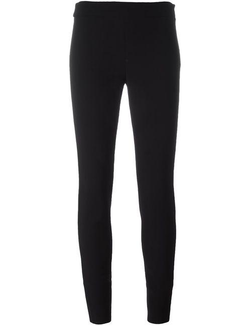 Proenza Schouler | Женское Чёрный Skinny Trousers 2 Spandex/Elastane/Wool