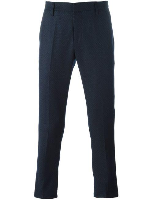 Dondup | Синий Gaubert Slim Fit Trousers 30 Cotton/Spandex/Elastane/Virgin Wool