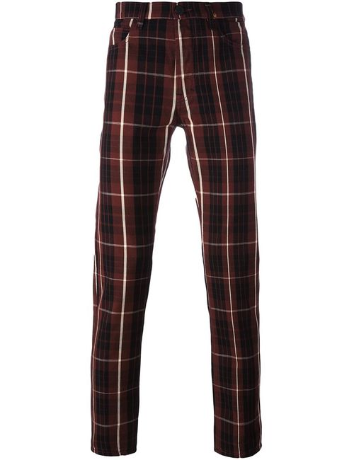 Vivienne Westwood Anglomania | Красный Checked Trousers 31 Cotton