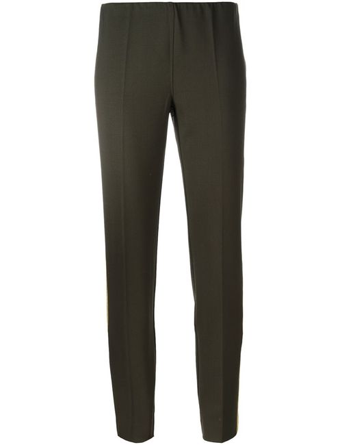 P.A.R.O.S.H. | Женское Зелёный Lily Trousers Medium Spandex/Elastane/Virgin Wool