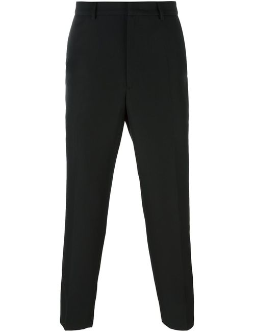 Mcq Alexander Mcqueen | Чёрный Contrast Detail Trousers 48 Polyurethane/Virgin