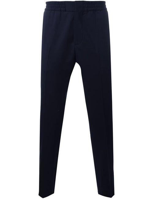 MSGM | Синий Elastic Waistband Trousers 48 Cotton/Spandex/Elastane/Virgin Wool