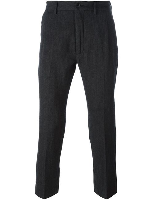 Pence | Мужское Серый Efrem Trousers 46 Linen/Flax/Polyester/Virgin Wool