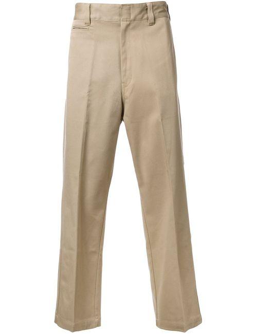 Mr. Gentleman | Коричневый Mrg Ex Chino Trousers Xxl Cotton/Polyester/Polyurethane
