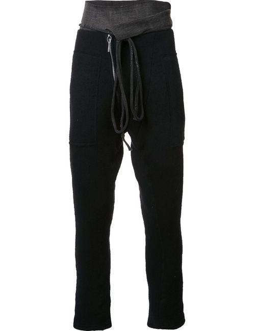 TAICHI MURAKAMI | Чёрный Track Pants 6 Nylon/Wool