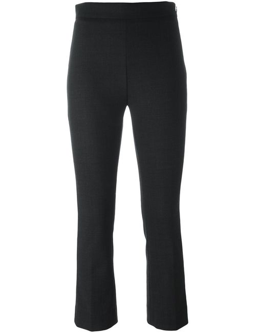 Iro | Женское Серый Slim Fit Cropped Trousers 38 Spandex/Elastane/Virgin Wool
