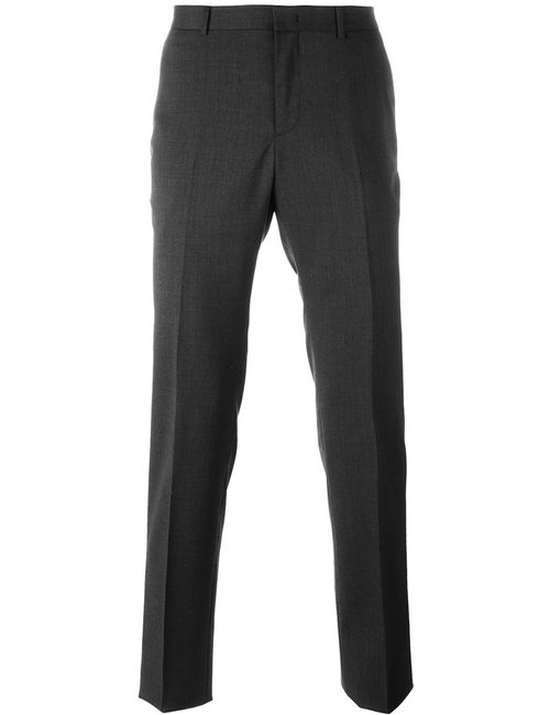 Z Zegna | Серый Tailored Trousers 50 Polyester/Spandex/Elastane/Acetate/Wool