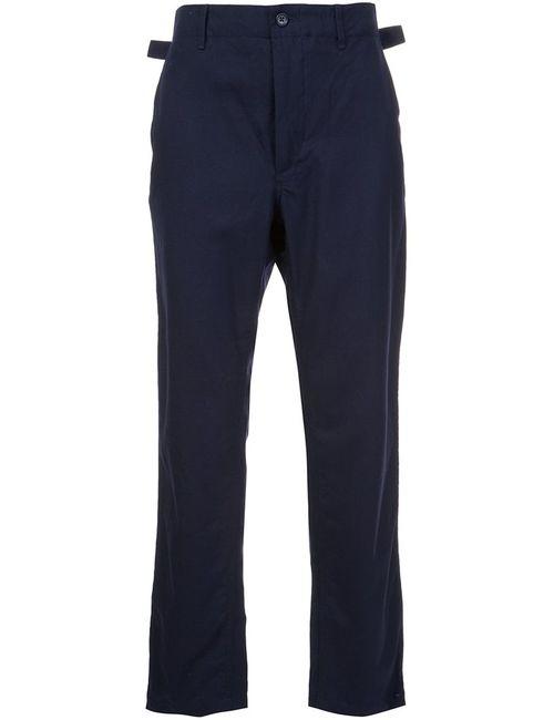 Engineered Garments   Синий Straight Trousers 32 Wool