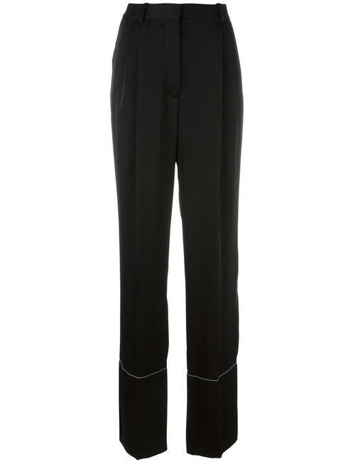 Sonia Rykiel | Женское Чёрный Straight Leg Trousers 38 Polyester/Triacetate