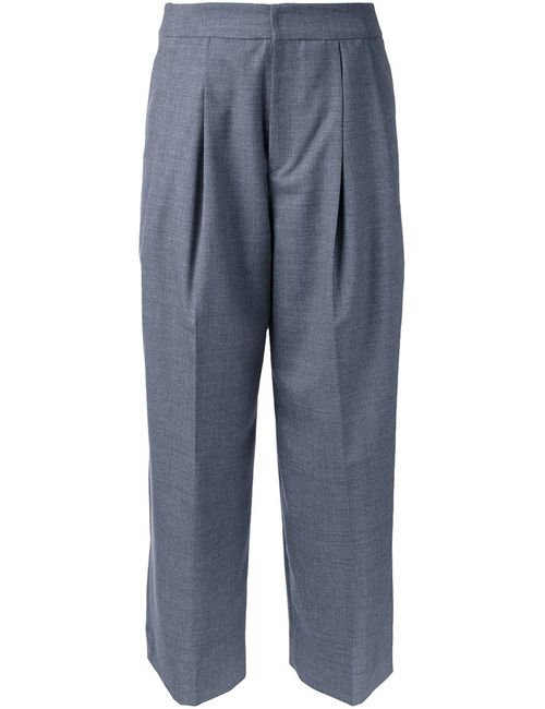 Cityshop | Женское Серый Cropped Trousers 36 Wool