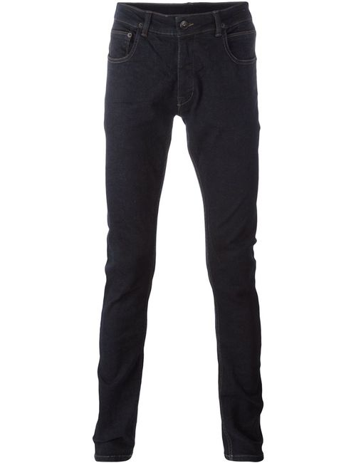 RICK OWENS DRKSHDW | Синий Slim-Fit Jeans 34 Cotton/Spandex/Elastane/Polybutylene Terephthalate