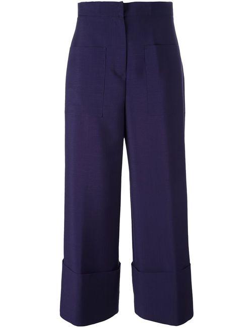Fendi | Розовый Classic Culottes 38 Mohair/Wool