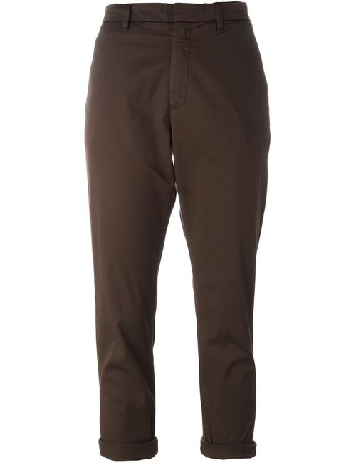 Hope   Женское Зелёный Cropped Trousers 34 Cotton/Spandex/Elastane