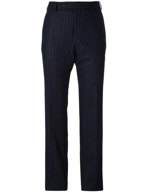 A.F.Vandevorst | Синий Pinstripe Slim-Fit Trousers 34 Wool