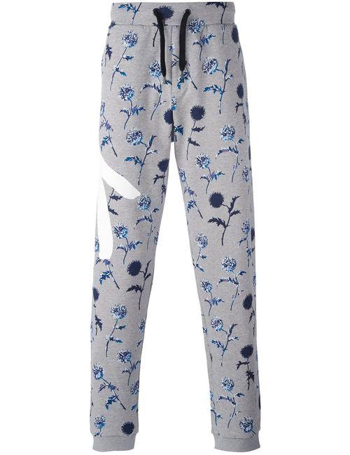 Kenzo | Серый Dandelion Track Pants Small Cotton