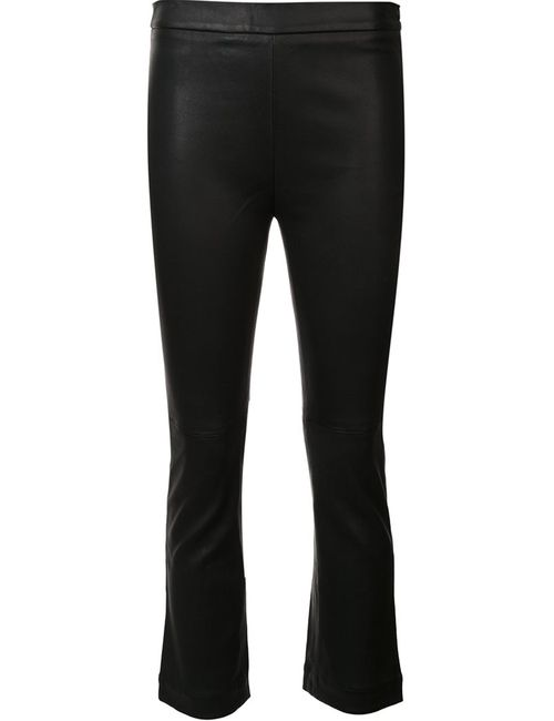 Iro | Женское Чёрный Beck Trousers 36 Lamb Nubuck Leather