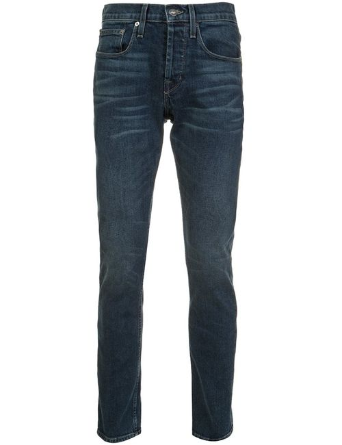 Current/Elliott | Синий Slim Fit Jeans 33 Cotton/Spandex/Elastane