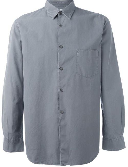 Comme Des Garcons | Серый Comme Des Garçons Vintage Chest Pocket Shirt