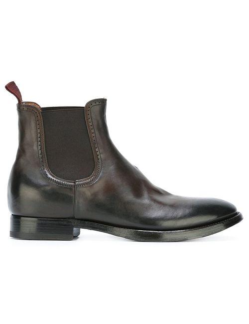 Silvano Sassetti | Коричневый Chelsea Boots 6 Leather/Rubber