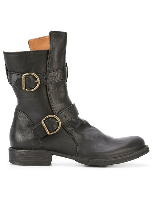 Fiorentini+Baker | Чёрный Fiorentini Baker Eternity 713 Boots 39 Leather/Rubber