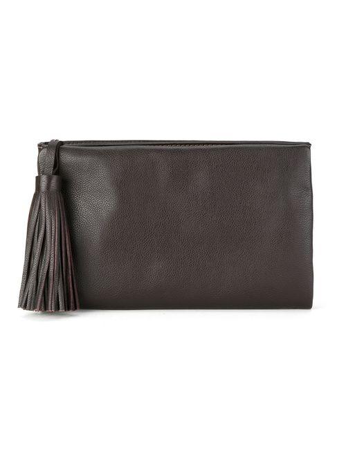 Sarah Chofakian | Женское Чёрный Leather Clutch